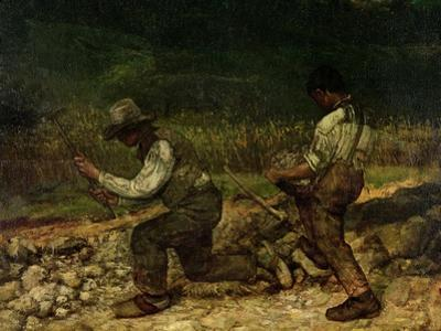 The Stonebreakers (Oil) by Gustave Courbet