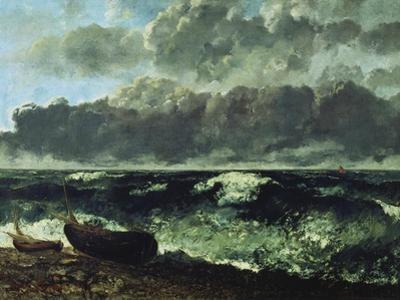 The Stormy Sea or the Wave, 1870 by Gustave Courbet