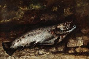 The Trout, 1873 by Gustave Courbet