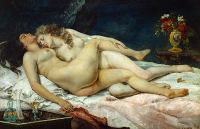 The Two Friends, 1867 by Gustave Courbet