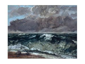 The Wave, 1867-1869 by Gustave Courbet