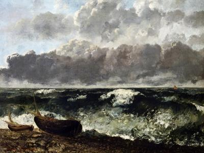 The Wave, 1869 by Gustave Courbet