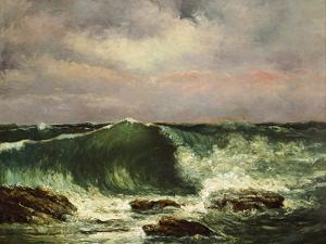 The Wave by Gustave Courbet