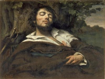 The Wounded Man (L'Homme Bless) by Gustave Courbet