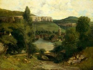 View of Ornans, c.1850 by Gustave Courbet