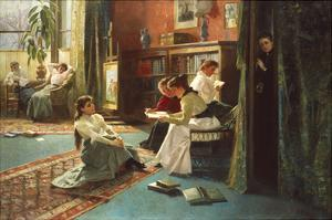 Reading in the Afternoon by Gustave De Jonghe