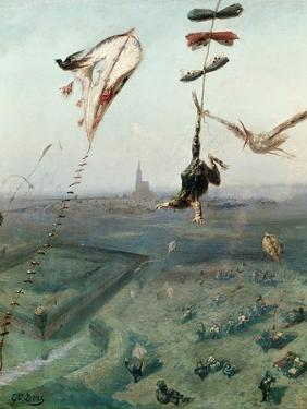 Between Heaven and Earth, 1862 by Gustave Dor?
