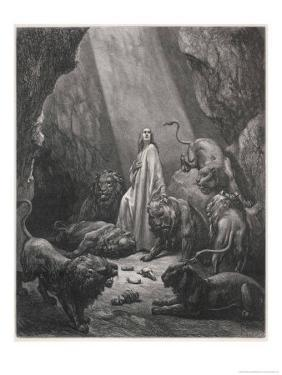 Daniel in Den by Gustave Dor?