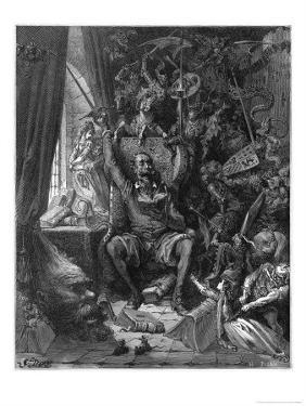 Don Quixote Relives His Past Glories by Gustave Dor?