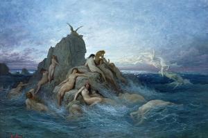 Les Oceanides by Gustave Dor?