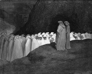 Procession of Damned by Gustave Dor?