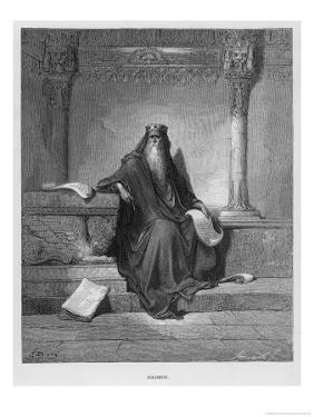 Solomon by Gustave Dor?