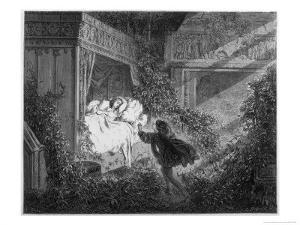 The Prince at Beauty's Bedside by Gustave Dor?