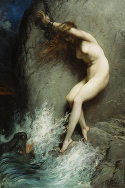Andromeda, 1869 by Gustave Doré