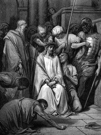 Christ Mocked and the Crown of Thorns Placed on His Head