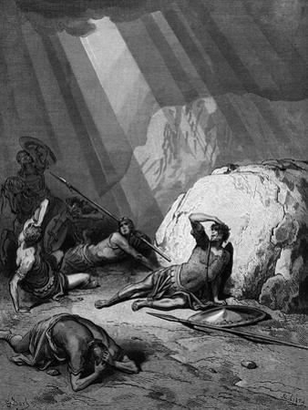 Conversion of St Paul on the Road to Damascus, 1865-1866 by Gustave Doré