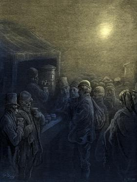 Covent Garden opera house by Gustave Dore