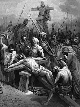 Crucifixion, 1866 by Gustave Doré