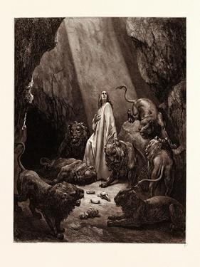 Daniel in the Den of Lions, by Gustave Dore, 1832 - 1883 by Gustave Dore