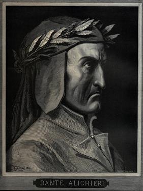 Dante Alighieri (1265-132), 1860 by Gustave Doré