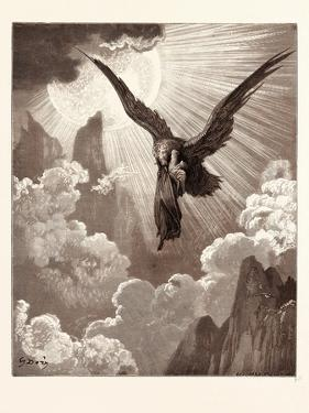 Dante and the Eagle by Gustave Dore
