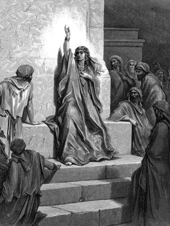 Deborah, Hebrew Prophetess and Judge, 1866 by Gustave Doré
