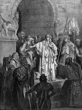 Deborah's song of triumph - Bible by Gustave Dore
