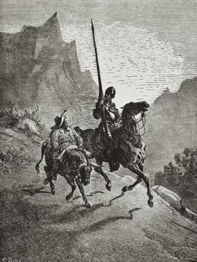 Don Quixote with Sancho Panza by Gustave Doré