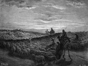 Esther accuses Haman by Gustave Dore