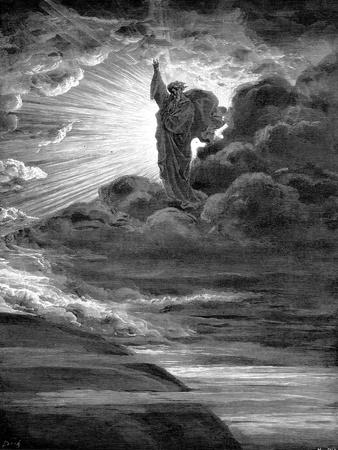God Creating Light, 1866
