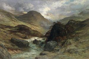 Gorge in the Mountains, 1878 by Gustave Doré