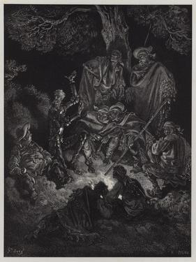 Illustration from Don Quixote De La Mancha by Gustave Doré