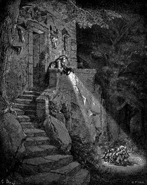 "Gustave Doré (Illustration to Perrault ""fairytale"") Art Poster Print"