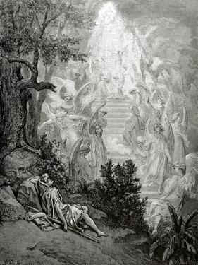 Jacob's Dream by Gustave Doré