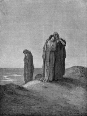 Jephthah's daughter and her companions by Gustave Dore