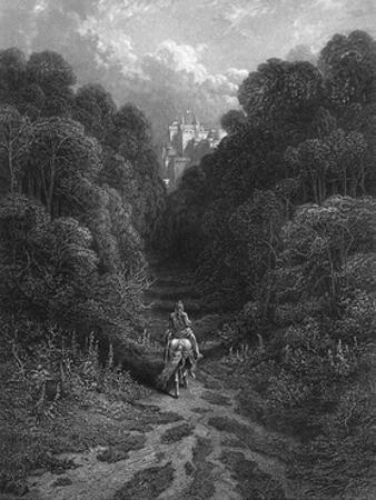 Lancelot at Astolat by Gustave Doré