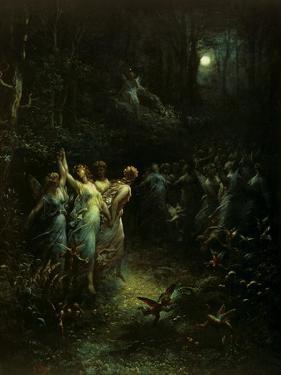Midsummer Night's Dream by Gustave Doré