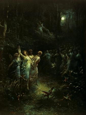 Midsummer Night's Dream by Gustave Doré