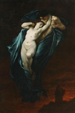 Paolo and Francesca Da Rimini, 1863 by Gustave Doré