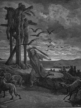 Rizpah, King Saul's Concubine, 1866 by Gustave Doré