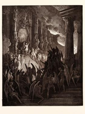 Satan in Council by Gustave Dore