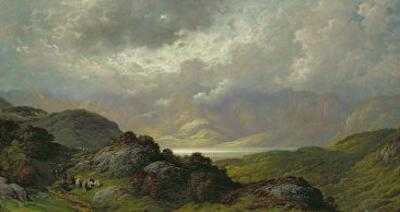 Scottish Landscape by Gustave Doré