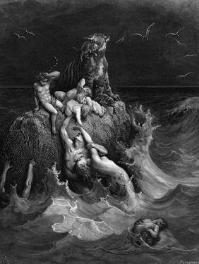 The Deluge, 1866 by Gustave Doré