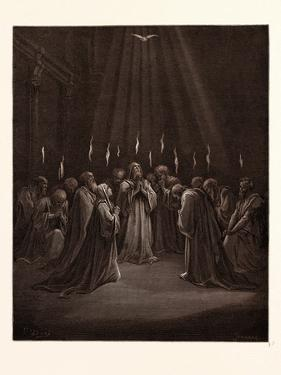 The Descent of the Spirit by Gustave Dore
