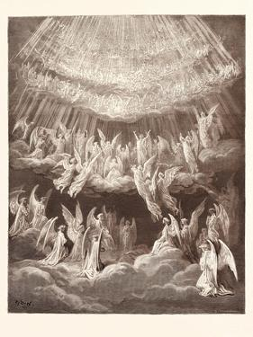 The Heavenly Choir by Gustave Dore