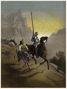 The History of Don Quixote de la Mancha by Gustave Dore