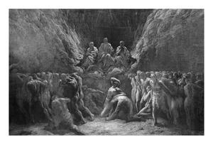 The Last Judgement, known also as the Three Judges of Hell, Minos, Hades and Rhadamanthe by Gustave Doré
