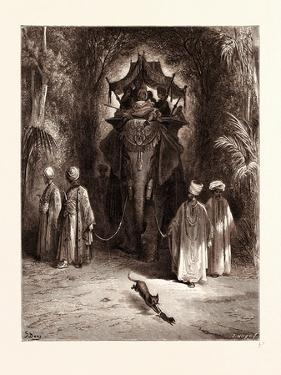 The Rat and the Elephant by Gustave Dore