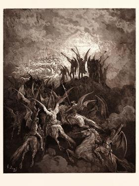 The Rebel Angels Summoned to the Conclave by Gustave Dore