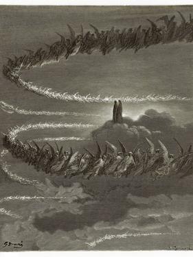 The Spirits in Jupiter by Gustave Doré